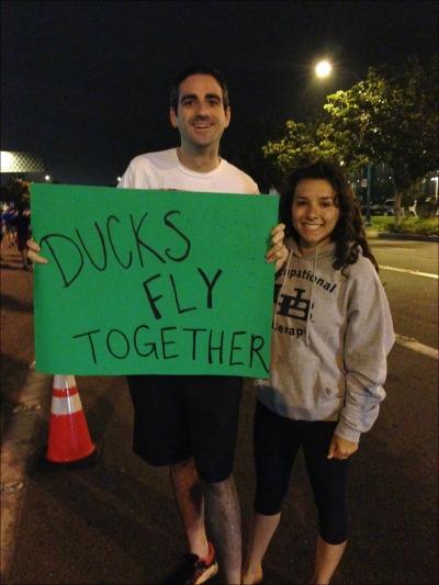 Dan and Tana Sign