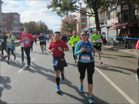 Danielle & Pat running