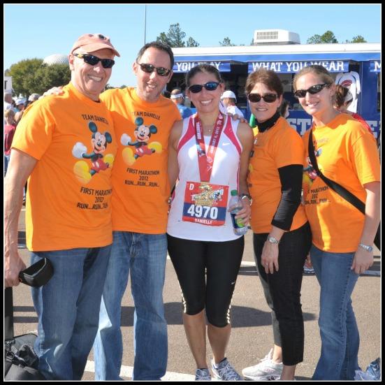 Marathon Family Photo