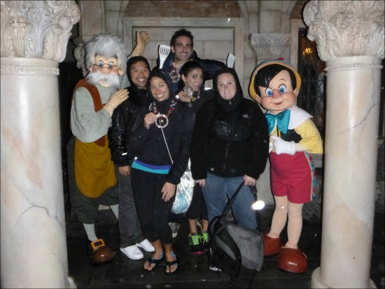 Post Race Pinocchio