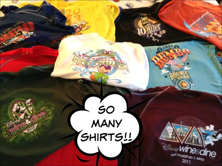T-shirts pre quilt