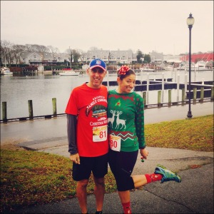 Danielle & Jason Jingle Jog