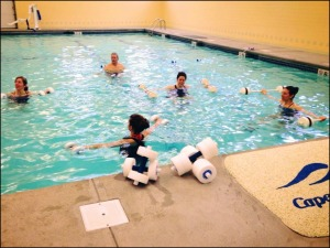 Burdenko Pool Training