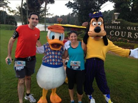 Goofy & Donald