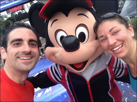 Mickey Selfie with Dan