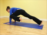 Yoga for Runners – Plank Pose