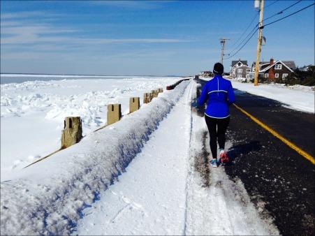 Winter Running Falmouth