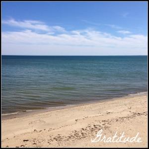 Beach Gratitude