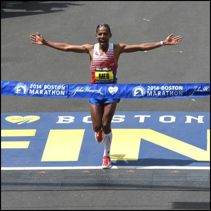 Meb Boston Finish