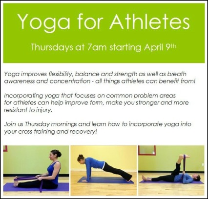 Yoga for Athletes Graphic