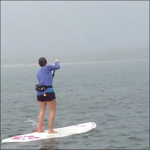 Foggy SUP