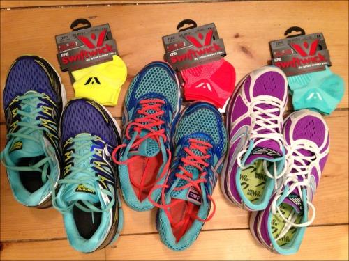 Swiftwick Socks and Sneakers