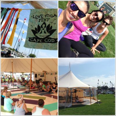 Love Yoga Fest Collage