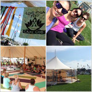 Love Yoga Fest Collage