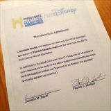 For Immediate Release – Contract Signed for the Hartford/ Disney Double!