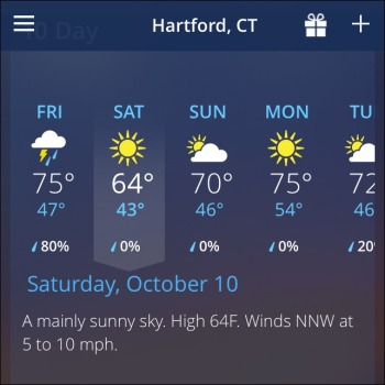HMF Weather