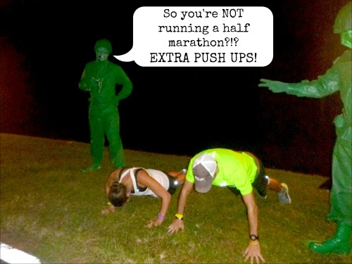 Army Men Pushups