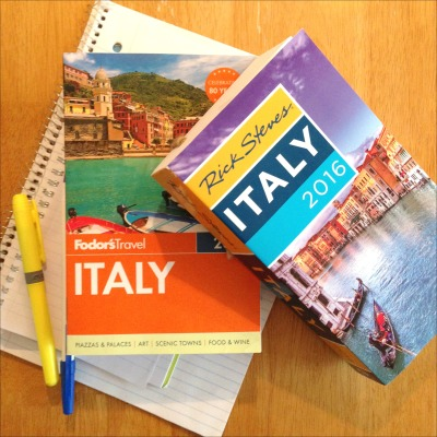 Italy Guidebooks