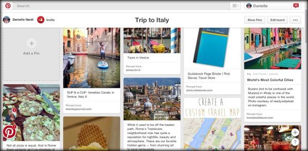 Italy Pinterest