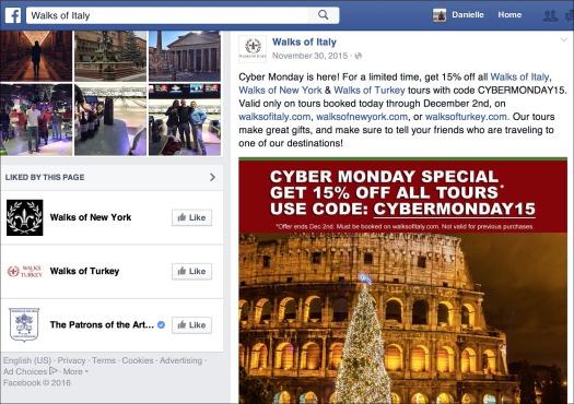 Facebook Discount