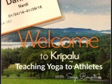 Week at Kripalu: Teaching Yoga to Athletes
