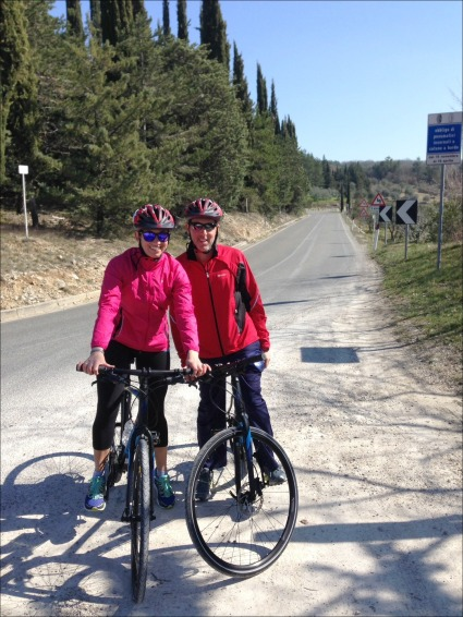Biking Tuscany