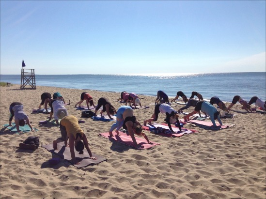 Yoga on the Beach DD